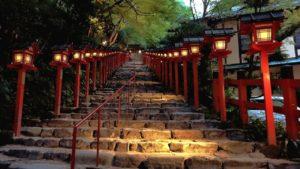 貴船神社ライトアップ