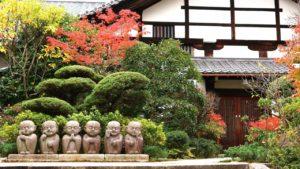 東福寺塔頭 かわいいお地蔵さま